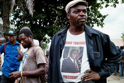 Tshisekedi supporters