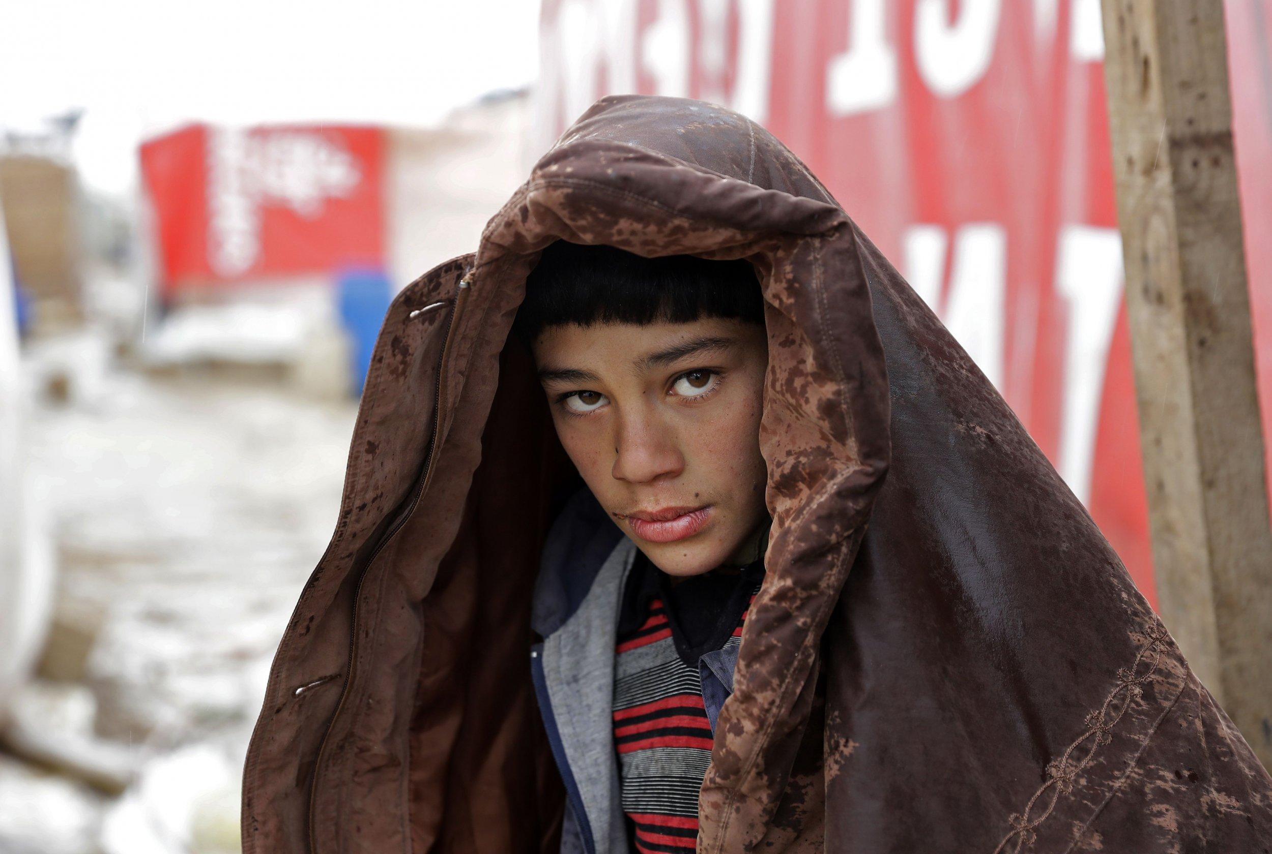 Syrian refugee in Lebanon