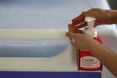 NHS Hand sanitizer