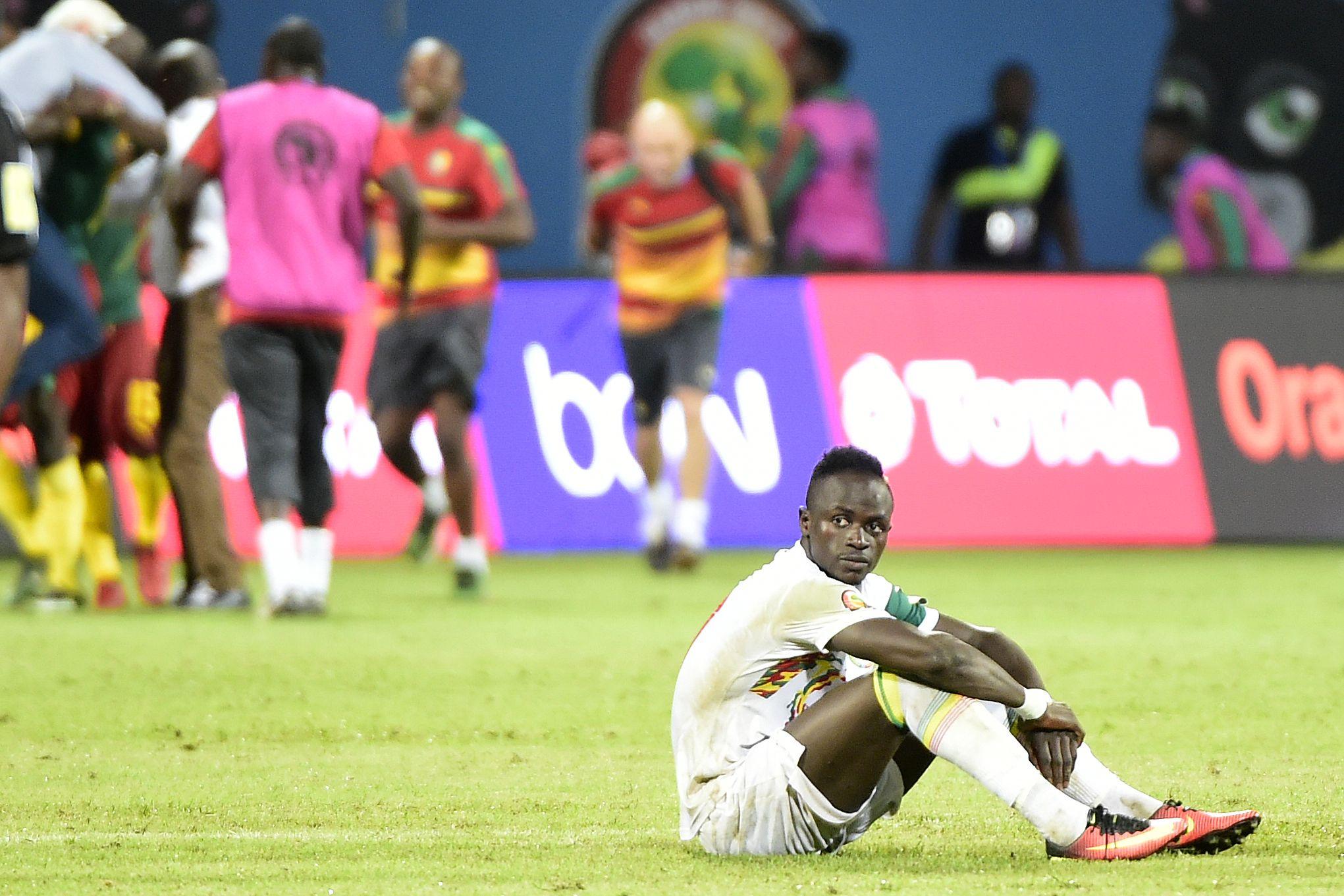 Sadio Mane Senegal Cameroon