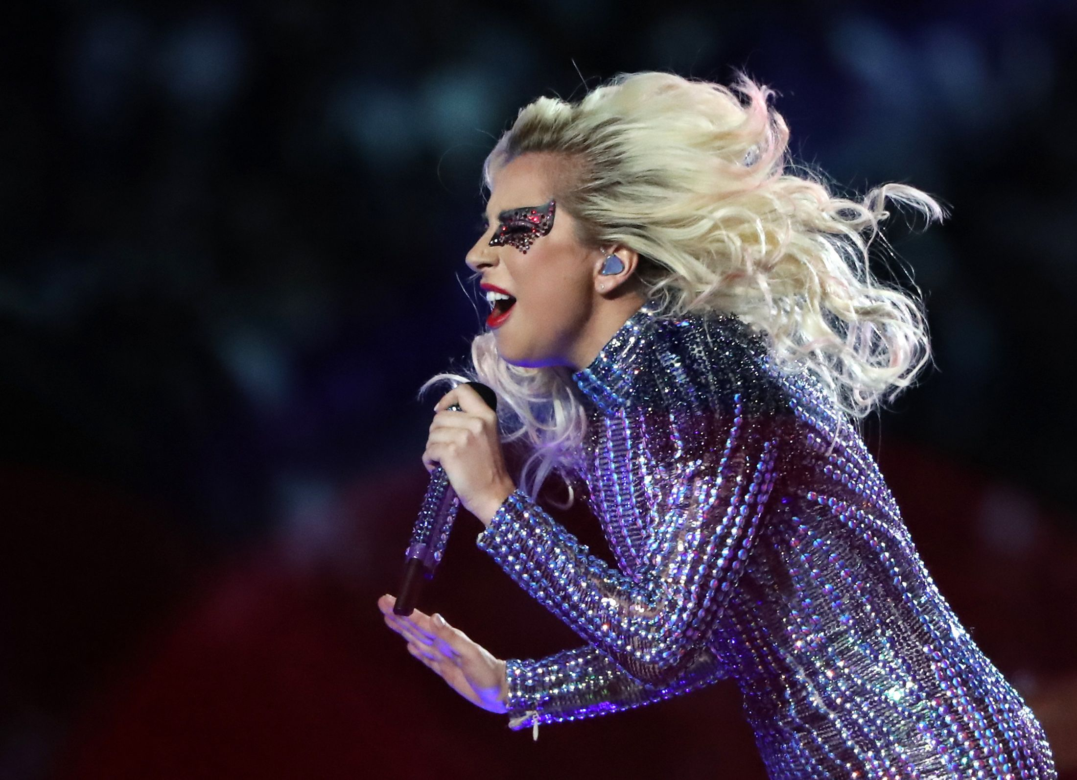 Lady Gaga super bowl halftime show 2017