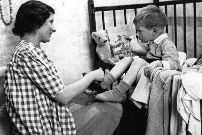 Bedtime in 1942