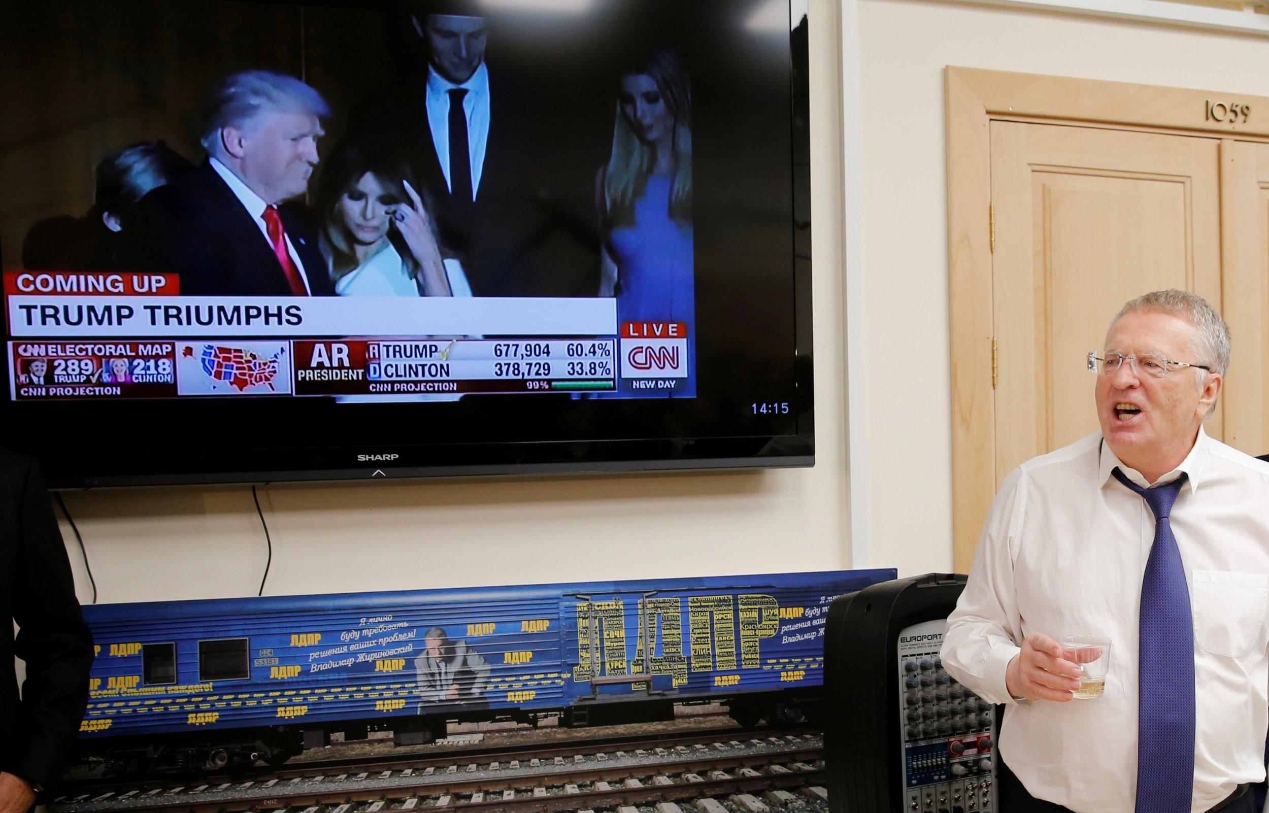 Trump on Russian tv