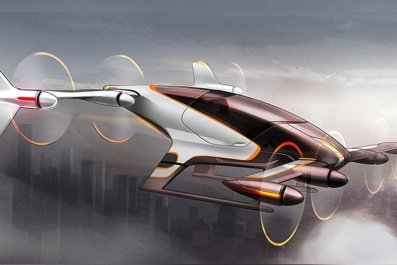 uber self-flying car nasa