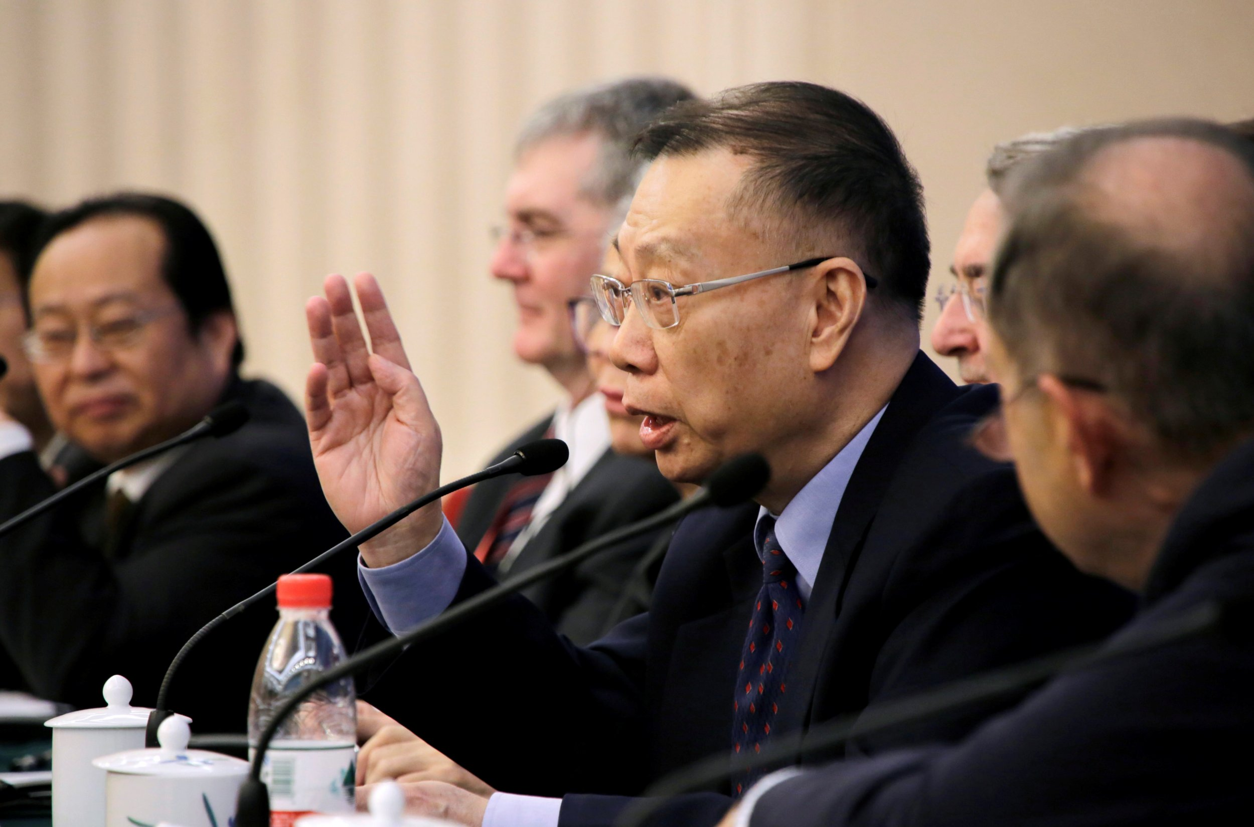 Huang Jiefu attends organ conference