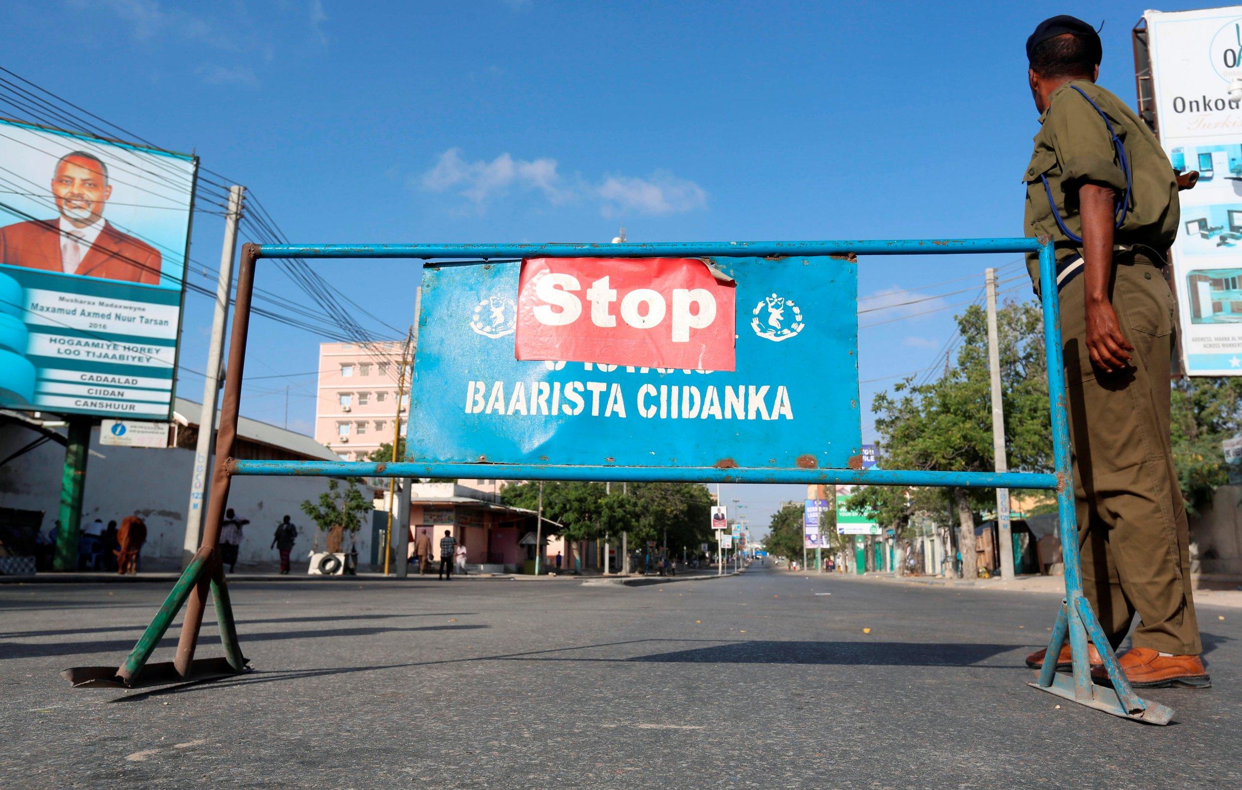 Somalia traffic block