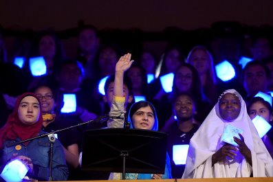 Malala Yousafzai at the U.N.