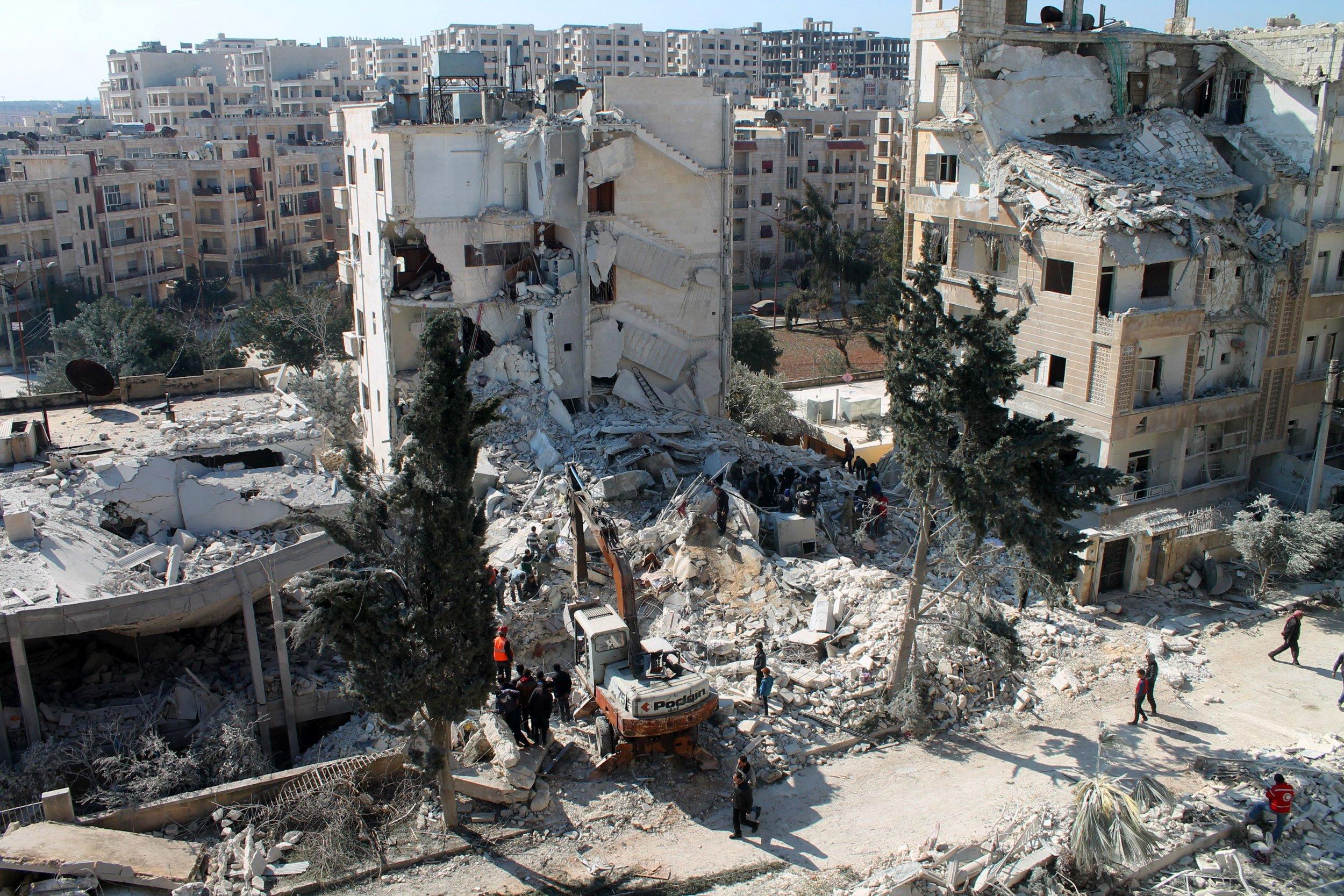 Idlib airstrike