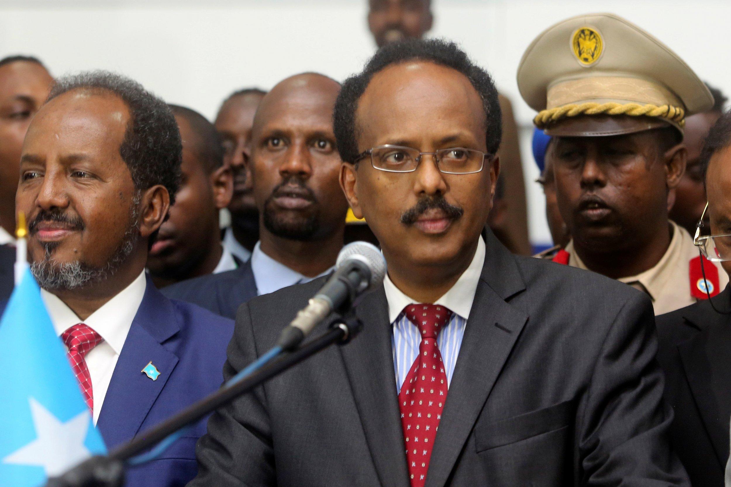 """Résultat de recherche d'images pour """"somalia, government, president of somalia, 2017, 2018"""""""