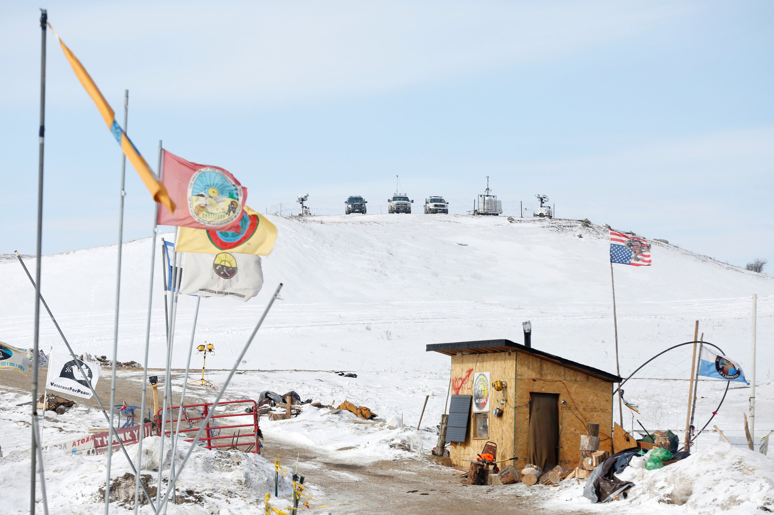 Dakota Pipeline Construction Resumes Despite Tribe\'s Challenge