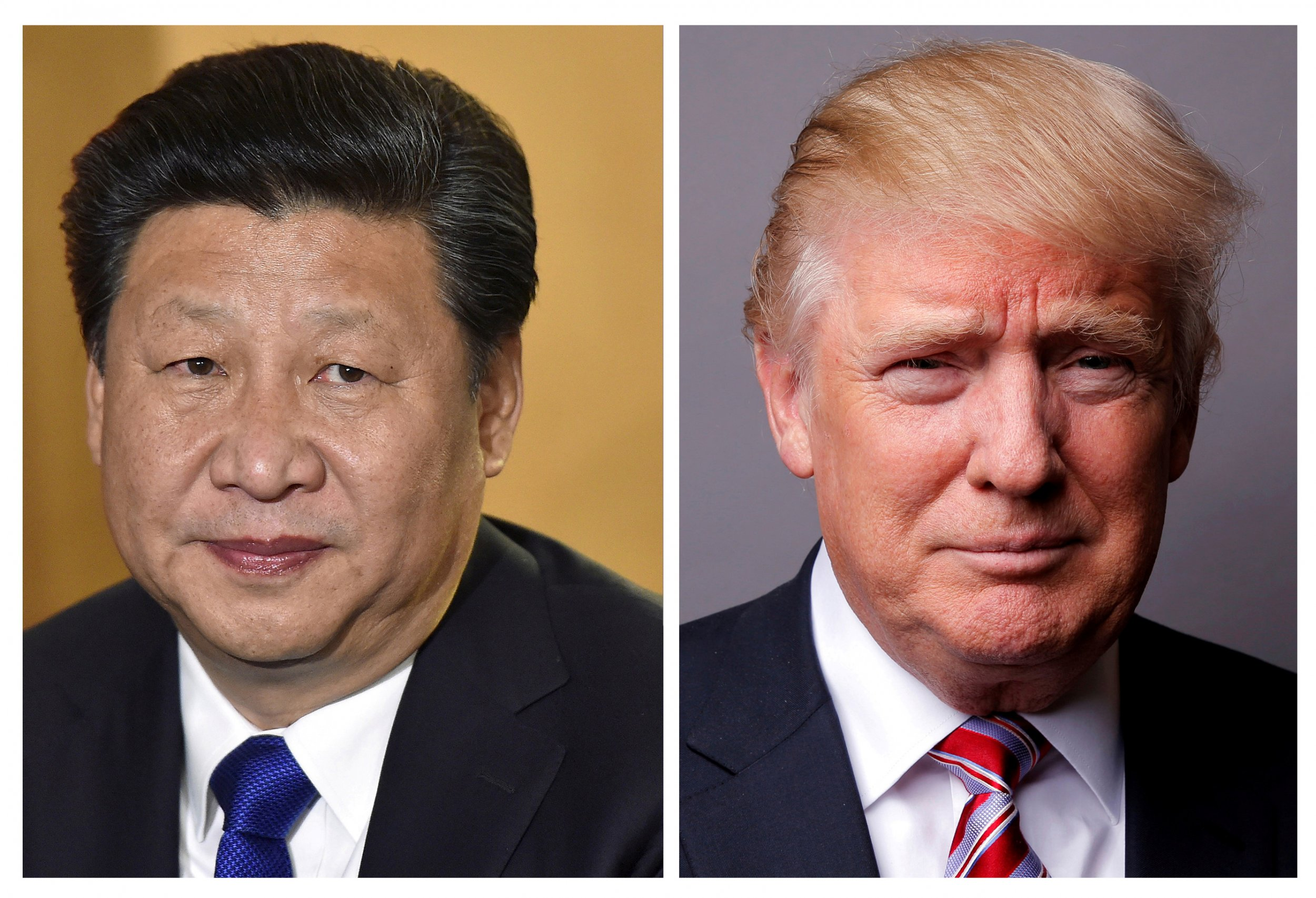 Trump and Xi Jinping joined picture