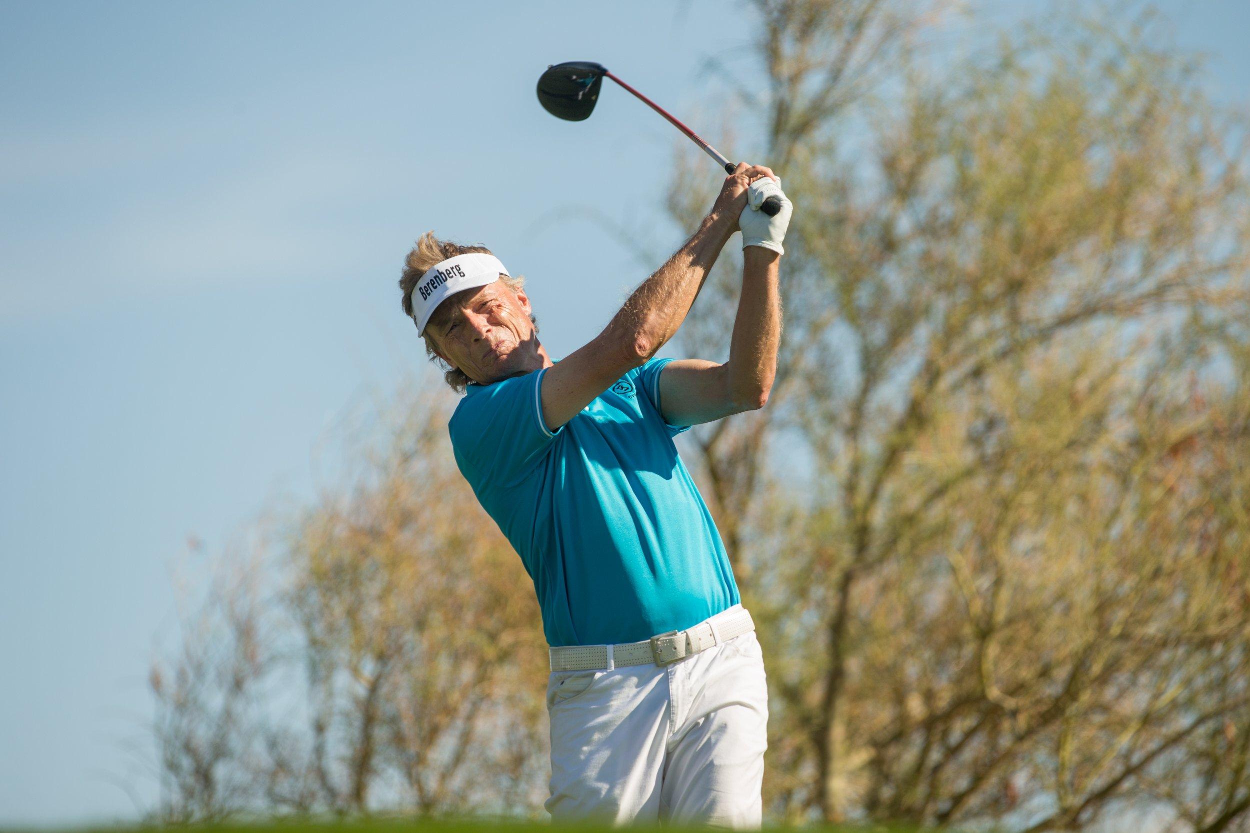 Golfer Bernhard Langer.