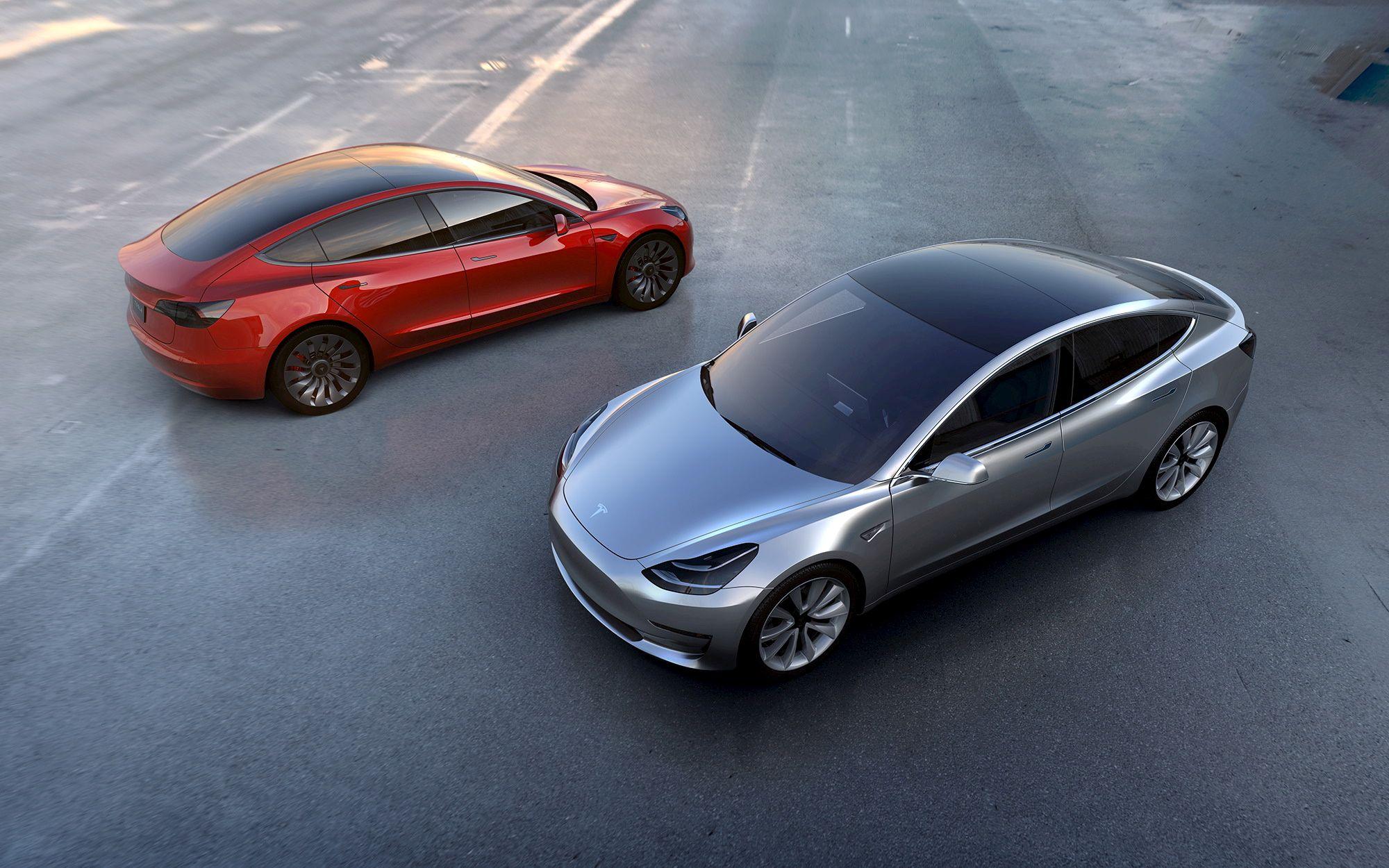 Tesla Cars 2017