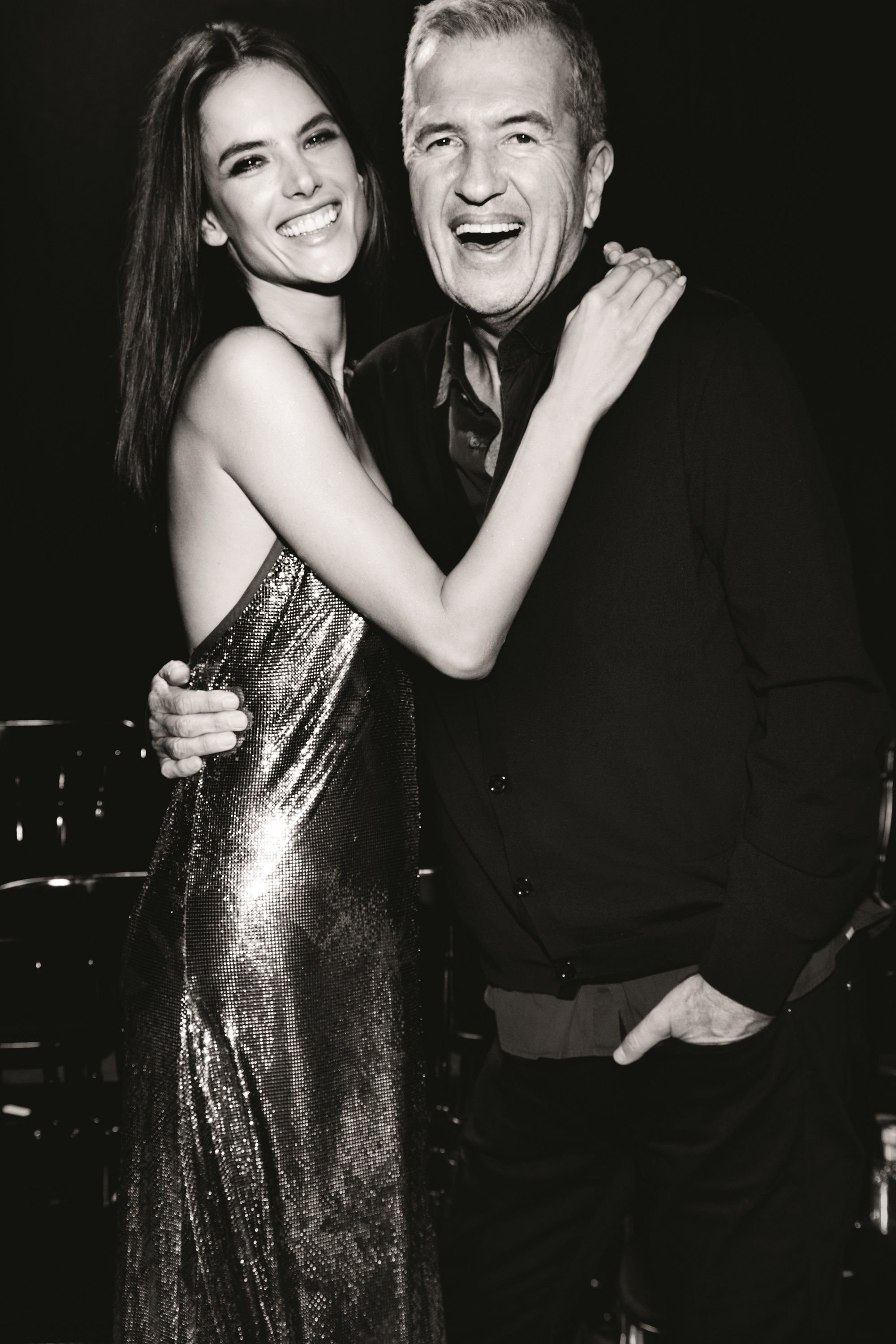 Mario Testino and Alessandra Ambrosio for Ciroc