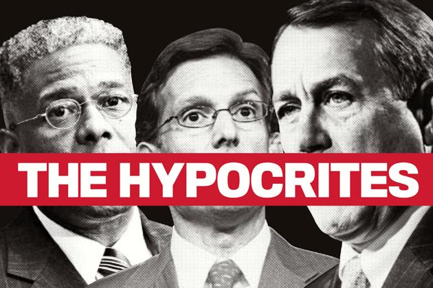 Allen West, Eric Cantor, and John Boehner