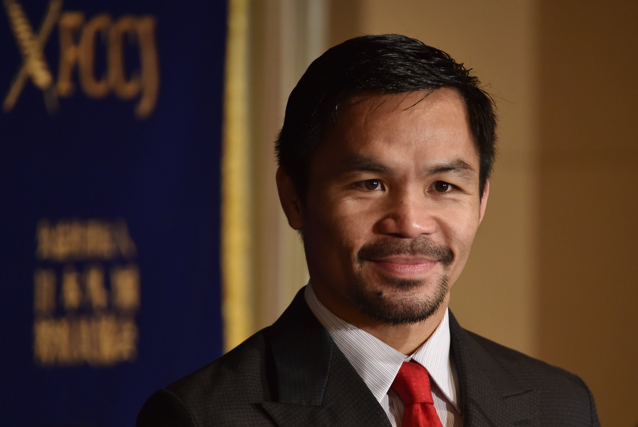 Five-weight boxing world champion Manny Pacquiao.