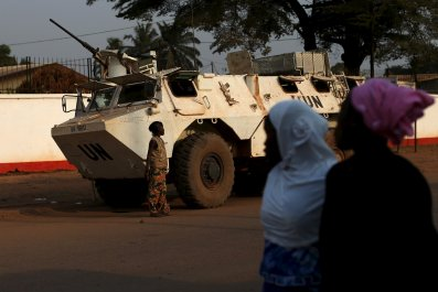 U.N. peacekeepers Central African Republic