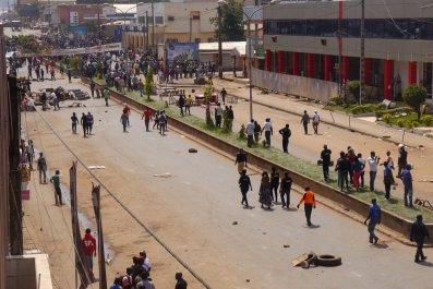 Bamenda protest Cameroon