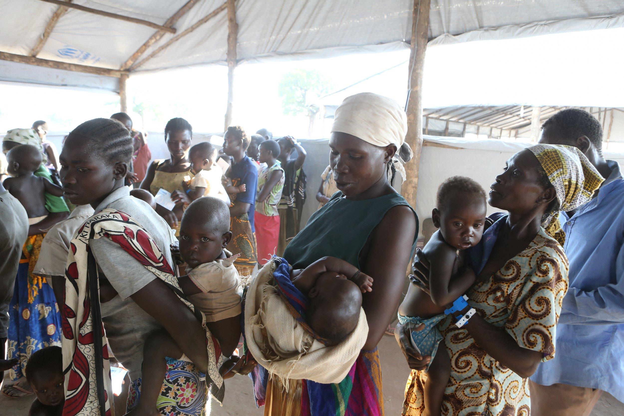 South Sudan refugees Bidi Bidi