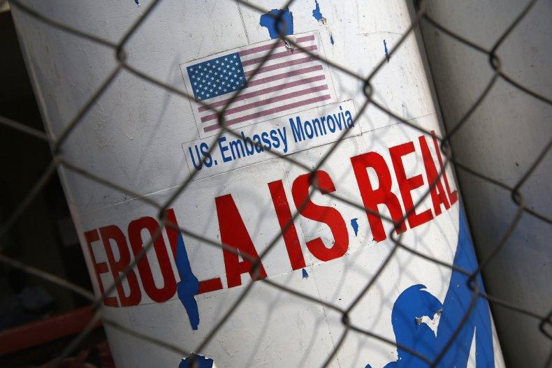 Ebola sign Liberia