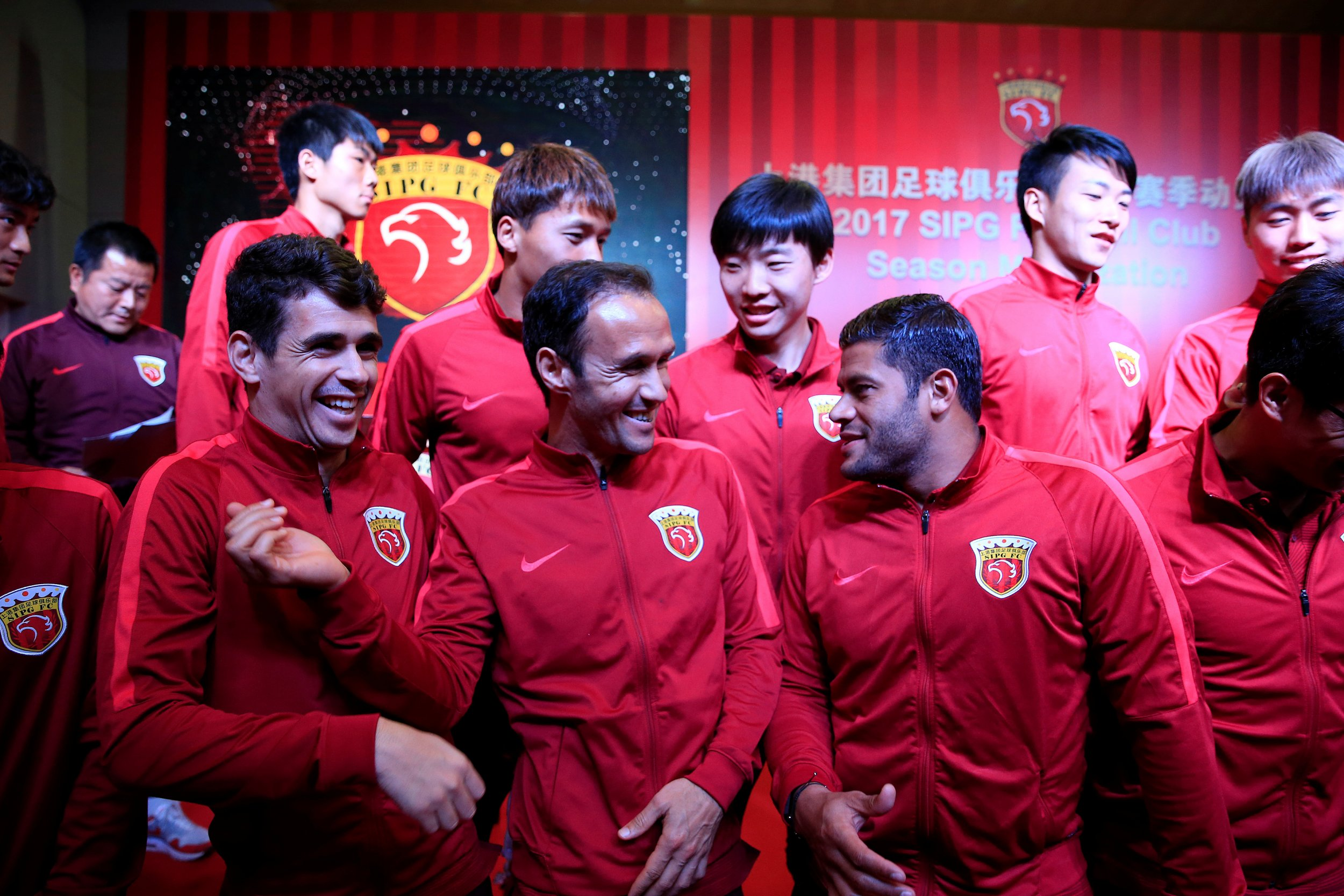 SIPG Football players