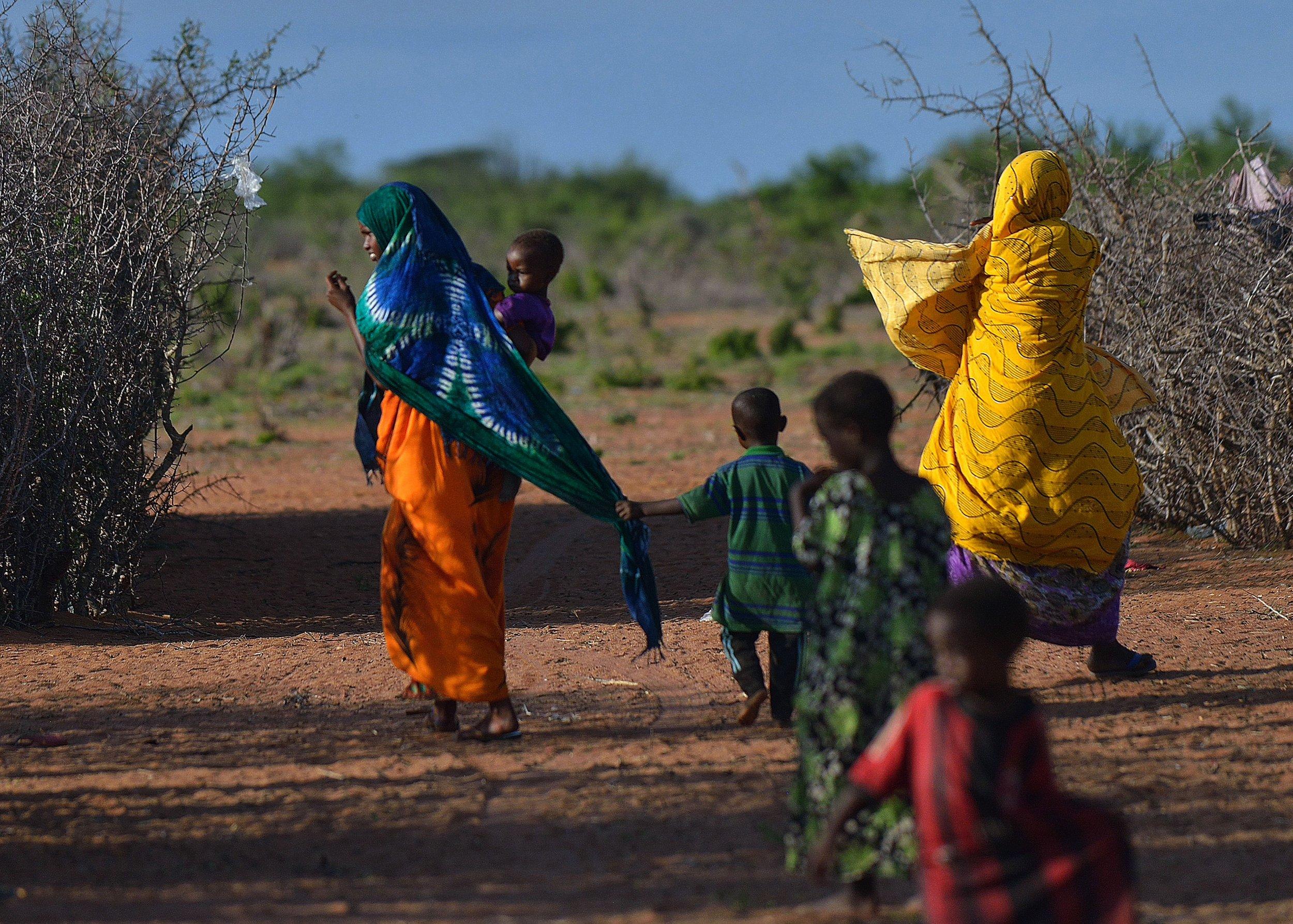 Somali refugees Dadaab