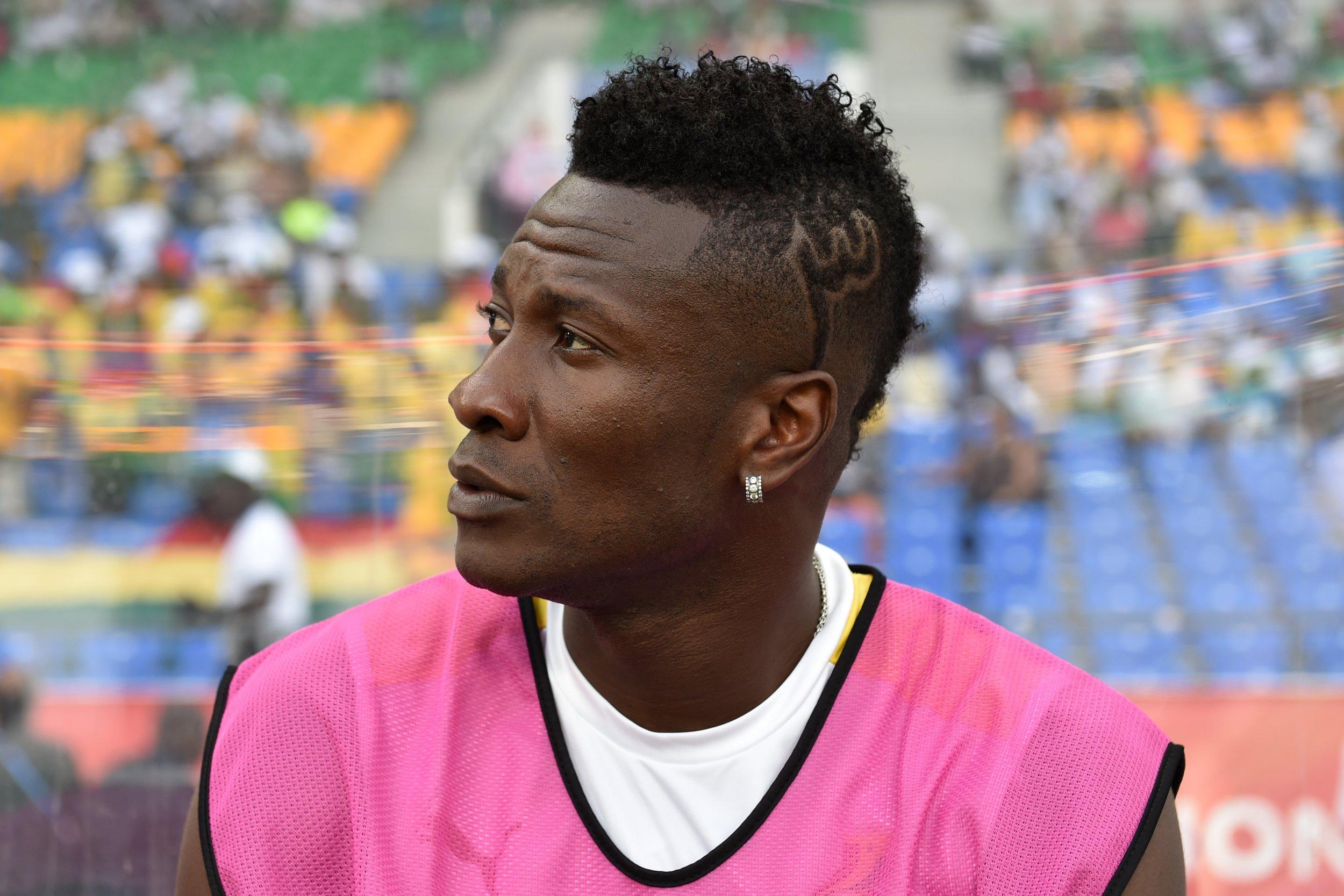 Al-Ahli striker Asamoah Gyan.
