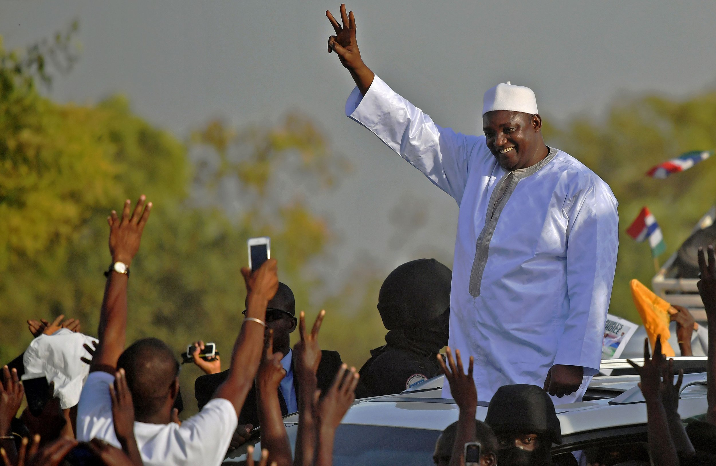 Adama Barrow return