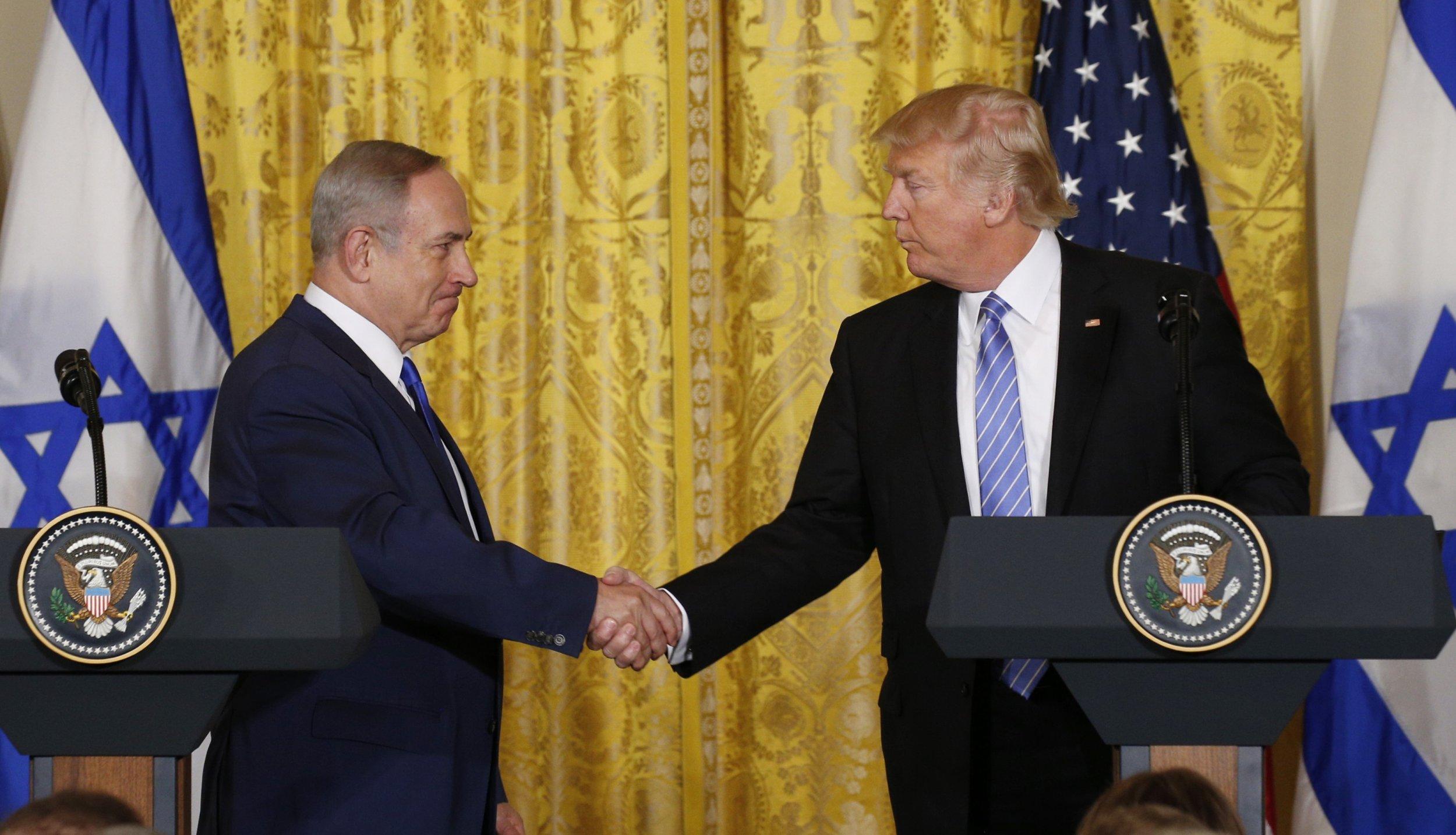 Trump Bibi