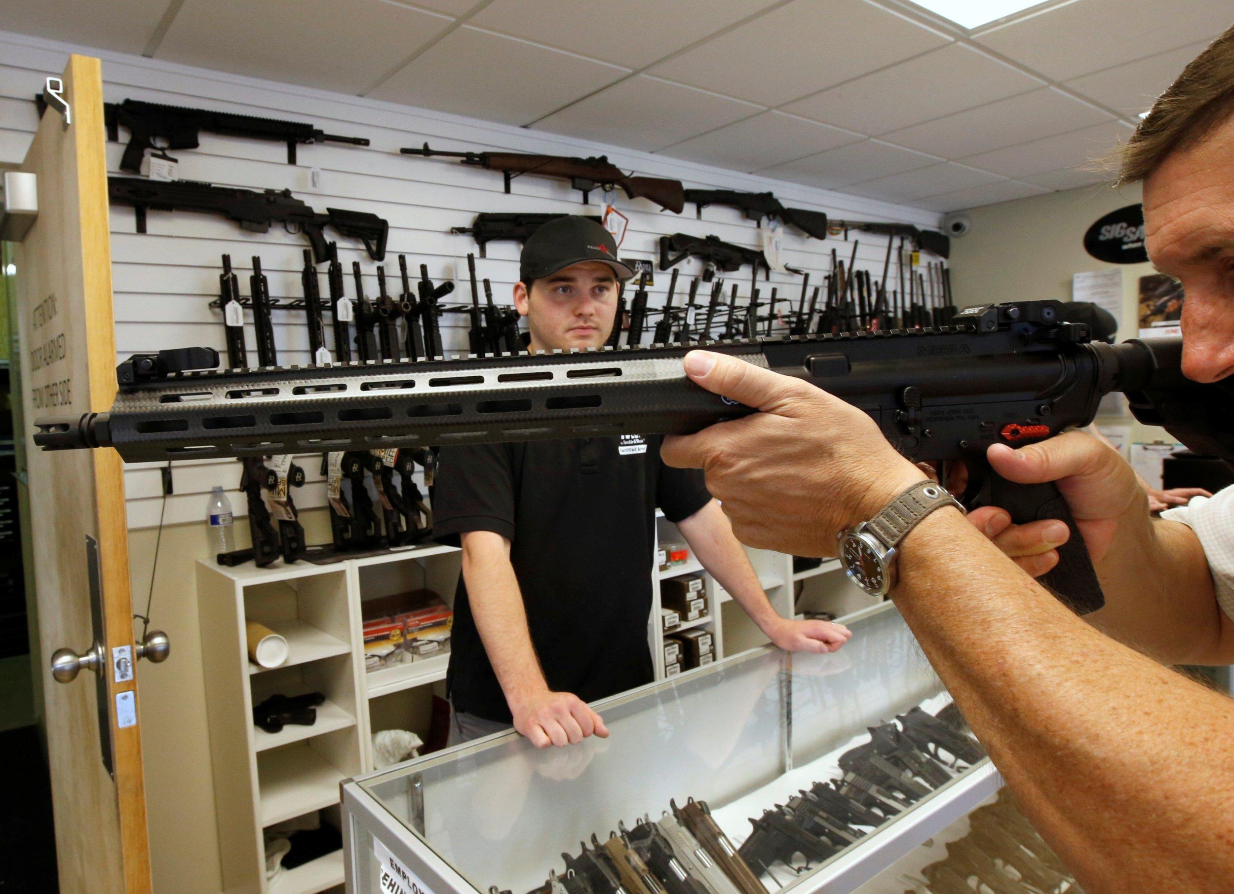 Trump Overturns A Mental Health Regulation On Gun Purchases