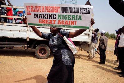 Pro-Buhari rally
