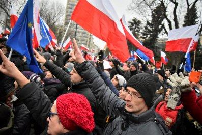 Polish Government Protest