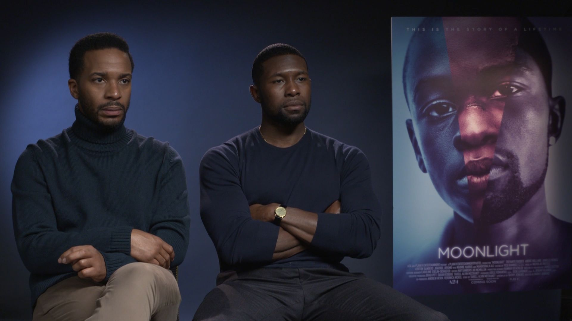 Moonlight - Trevante Rhodes and Andre Holland
