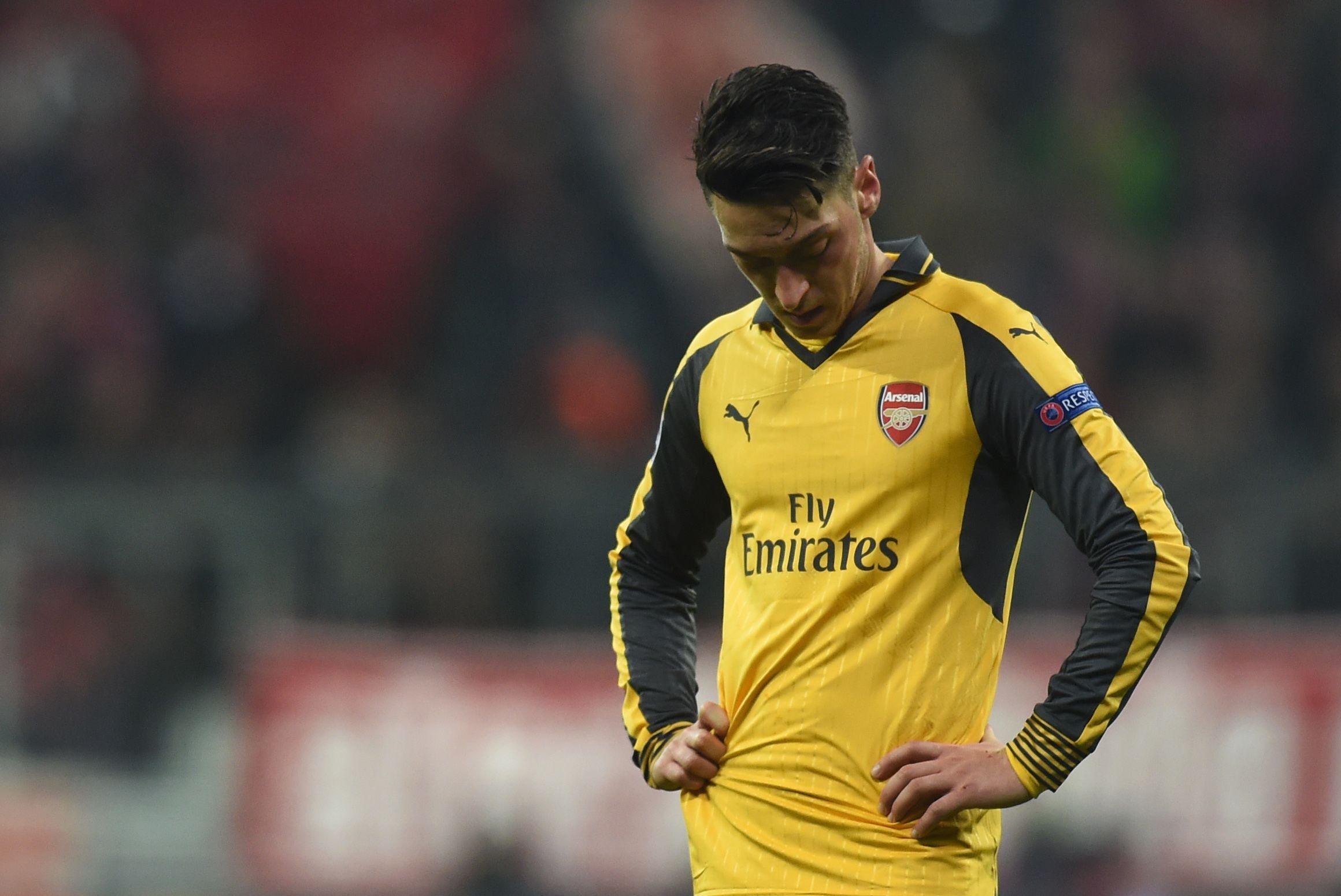Arsenal star Mesut Ozil.