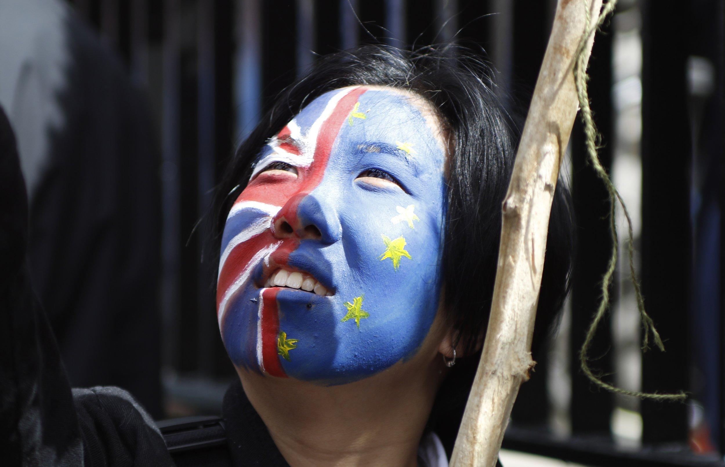 Brexit protest 2016