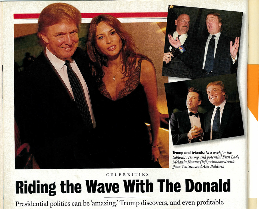 in 1999 alec baldwin introduced donald trump at a charity event as
