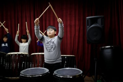 Children music in South Korea
