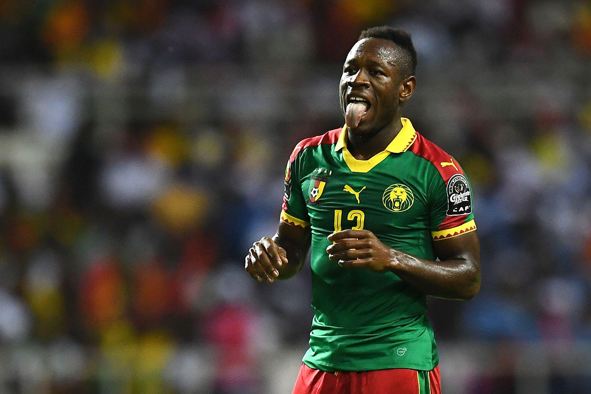 Cameroon winger Christian Bassogog.