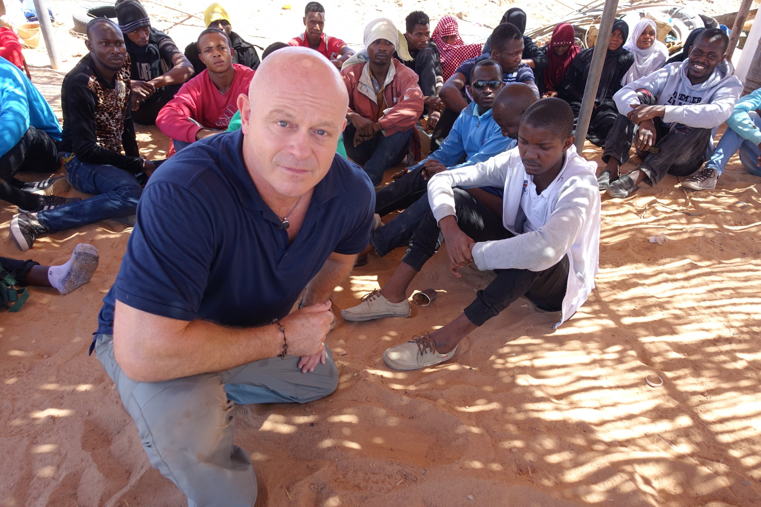 Ross Kemp migrants