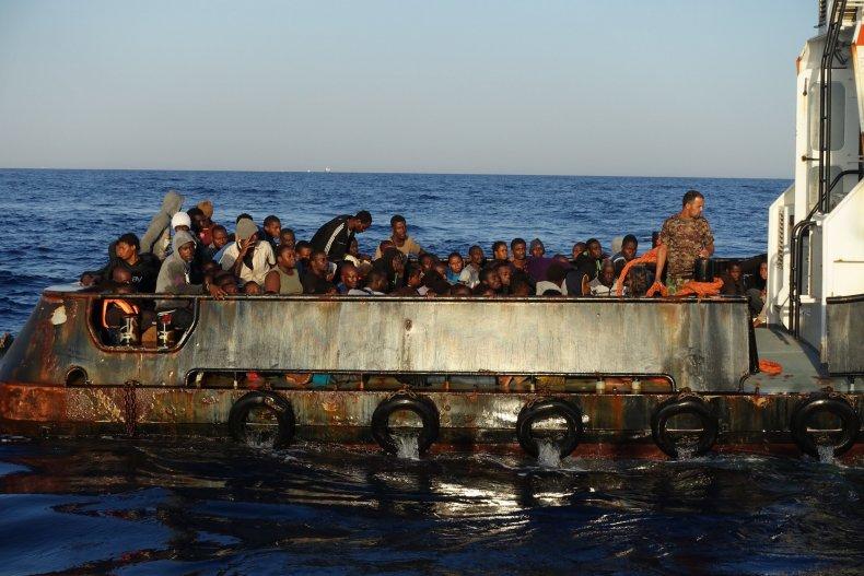 Libya migrant boat