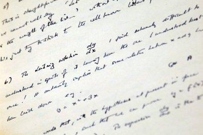 Alan Turing notebook