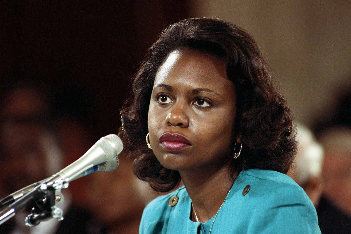 Anita Hill Married Anita Hill Discusses Clarence