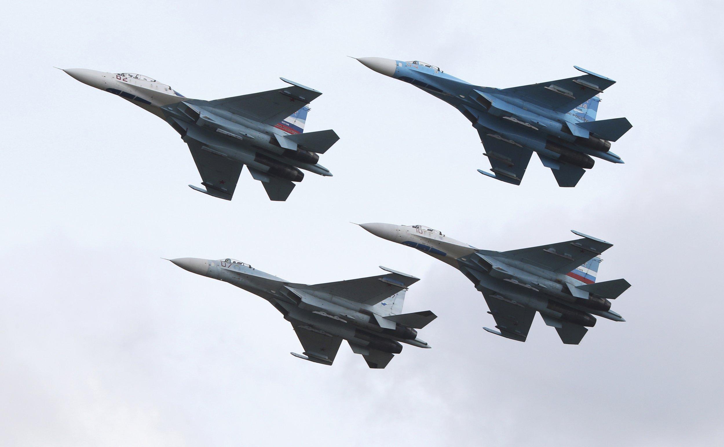 NATO Intercepts Russian Bombers Above Baltic Sea Twice in One Week