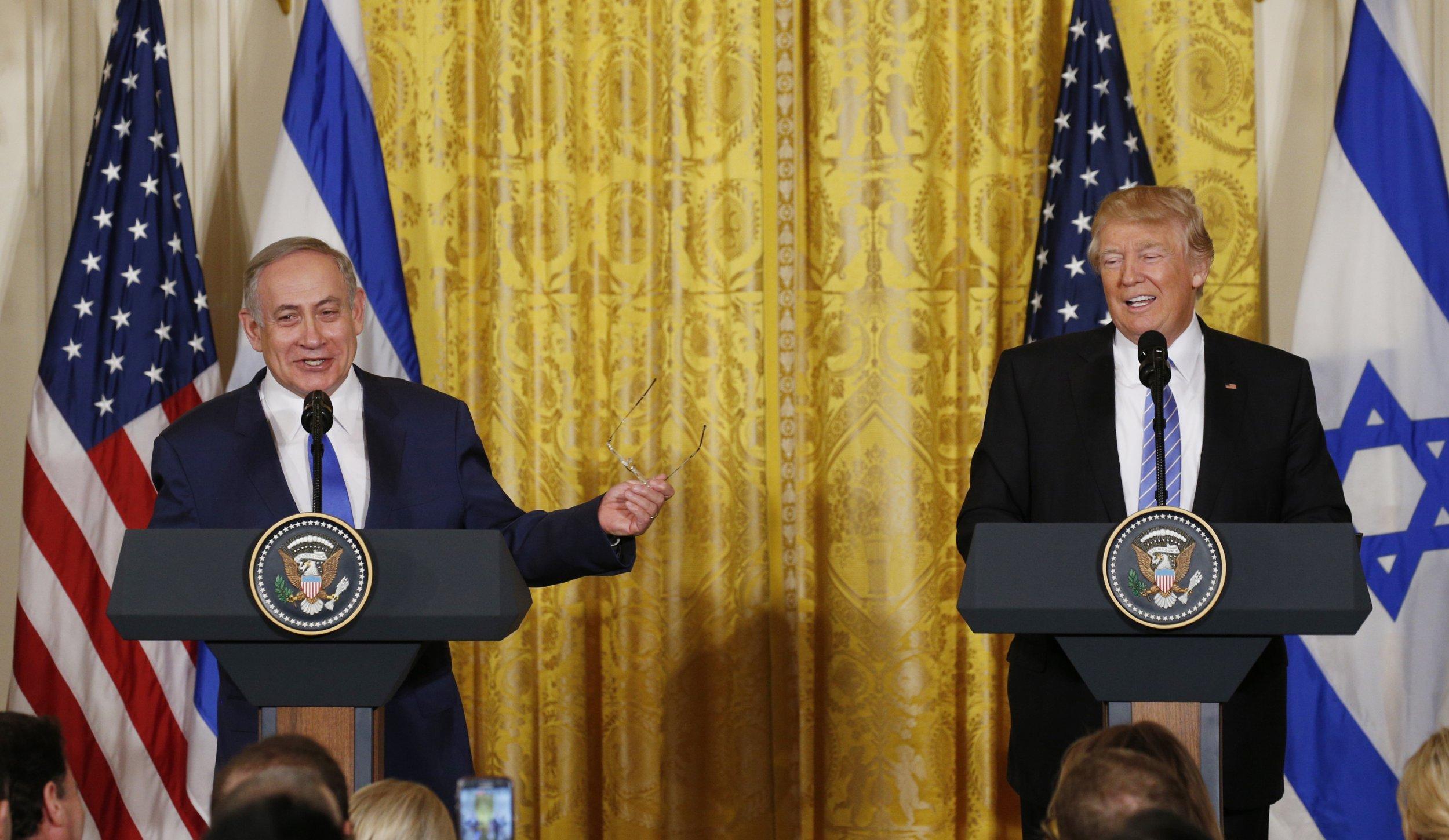 Trump Netanyahu 2017
