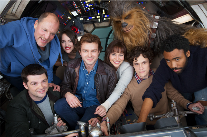 Star Wars - Han Solo cast
