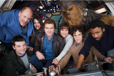 Star Wars - Han Solo cast