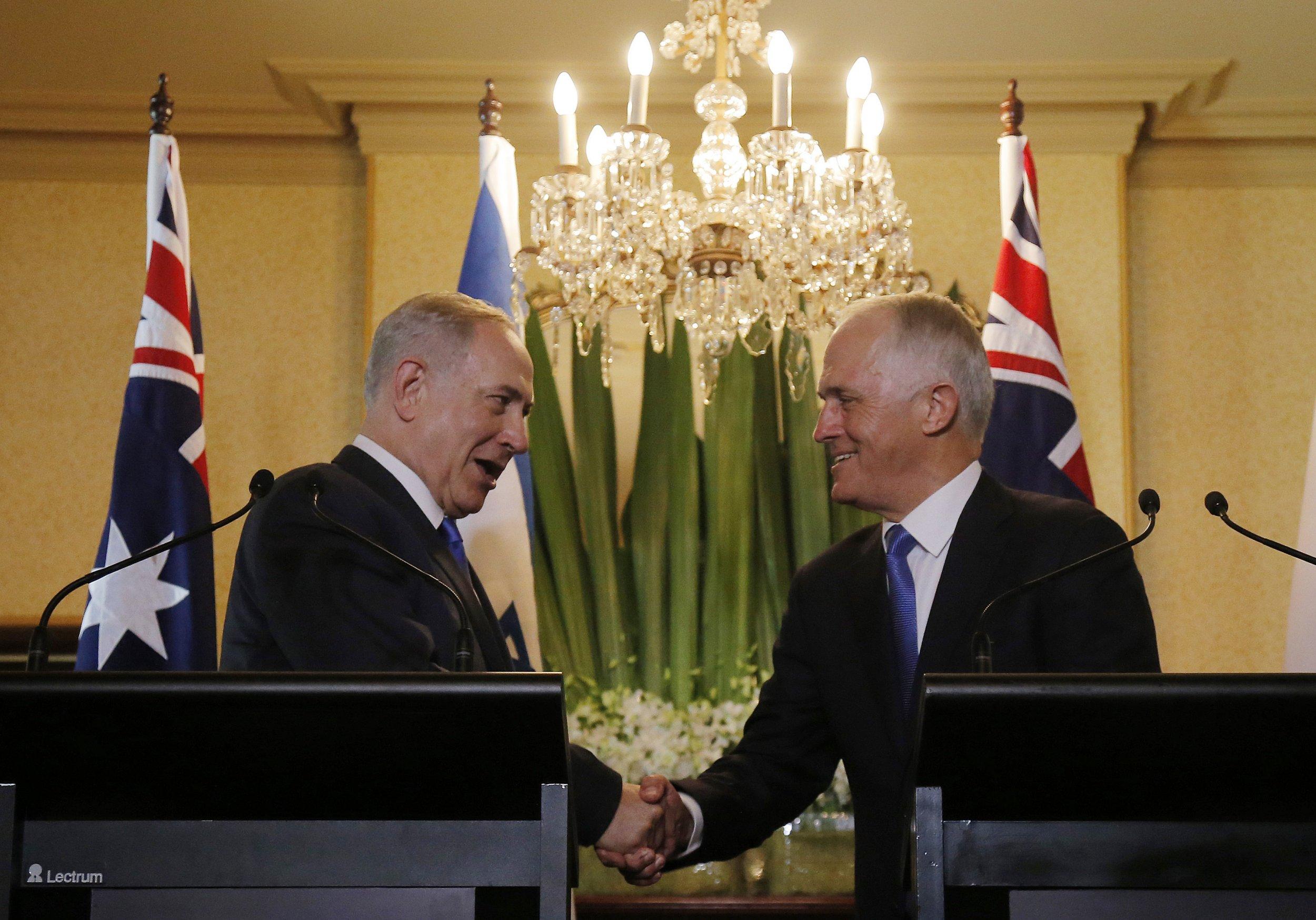 Netanyahu and Turnbull