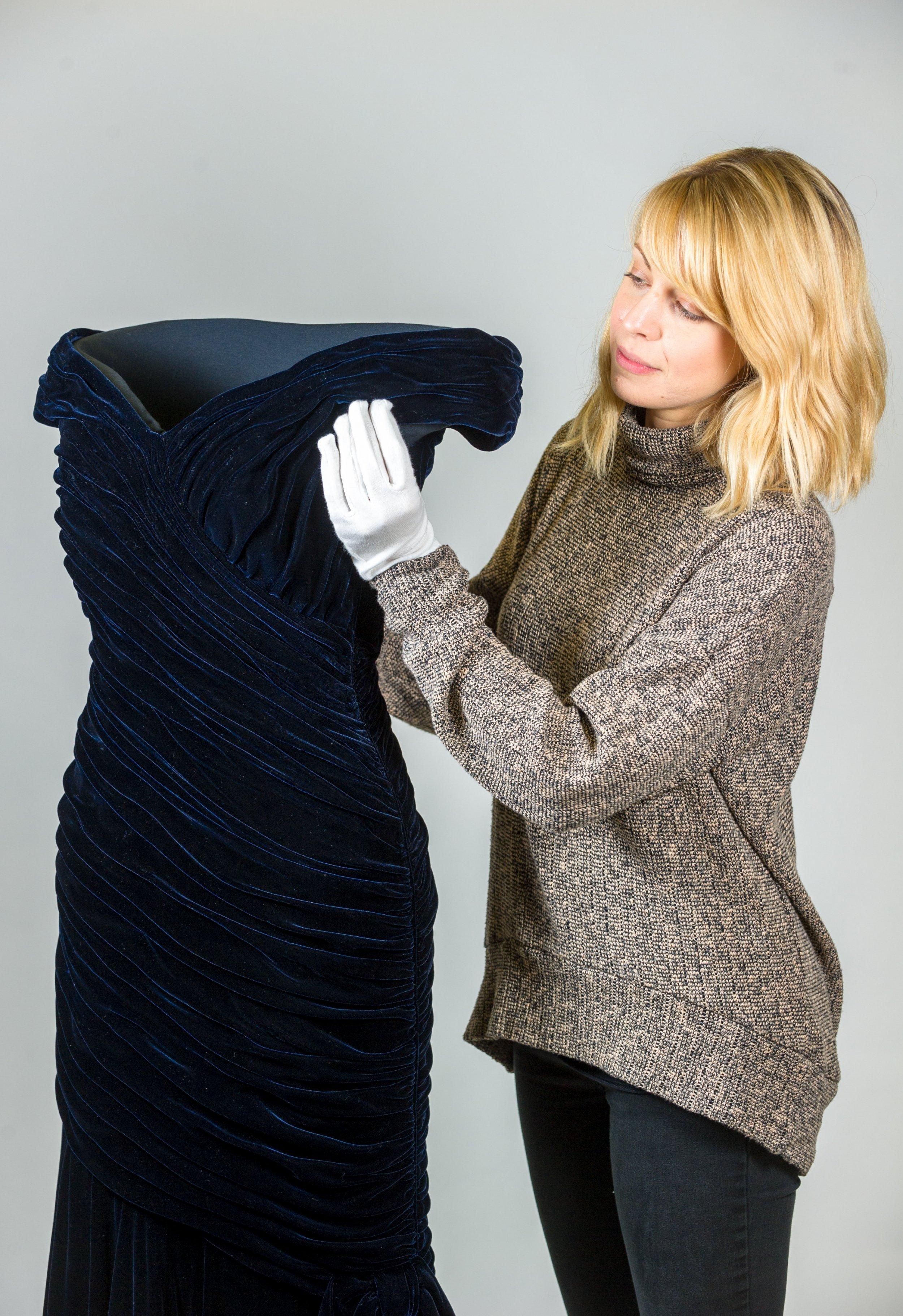 Diana: Her Fashion Story - Travolta dress