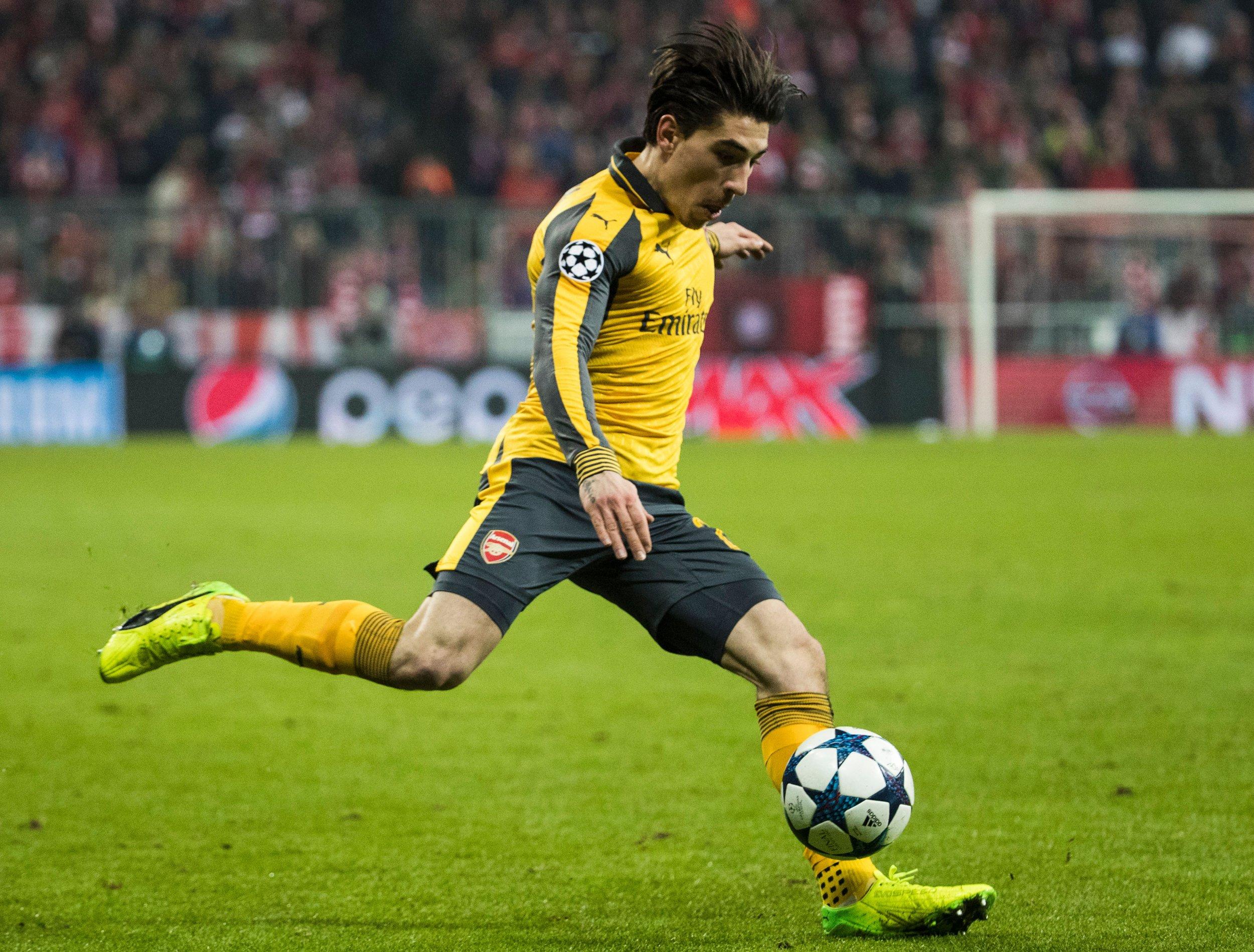 Arsenal defender Hector Bellerin.