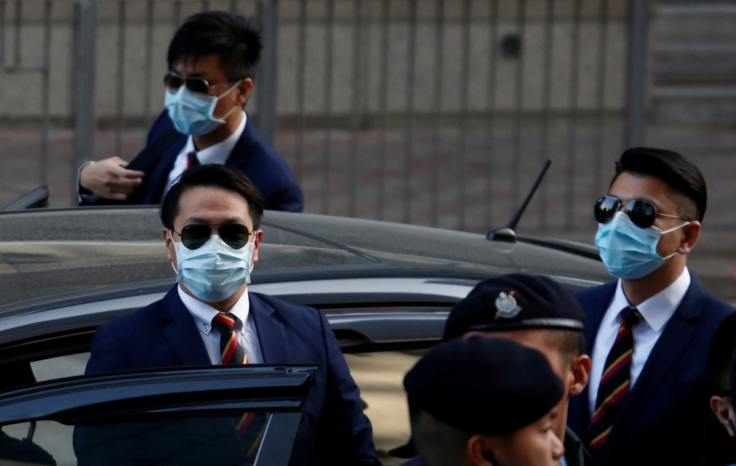 Police are sentenced in Hong kong